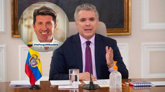 Vía Twitter, Diego Molano, director de presidencia expresa que renta básica en Colombia existe a través de ingreso solidario.