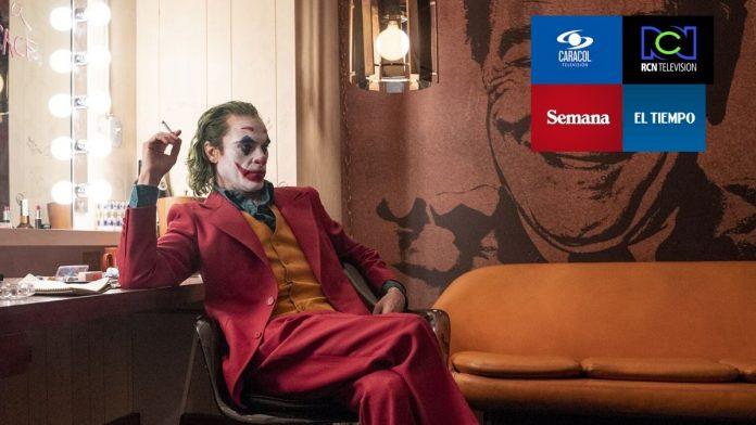 medios de comunicación colombia joker