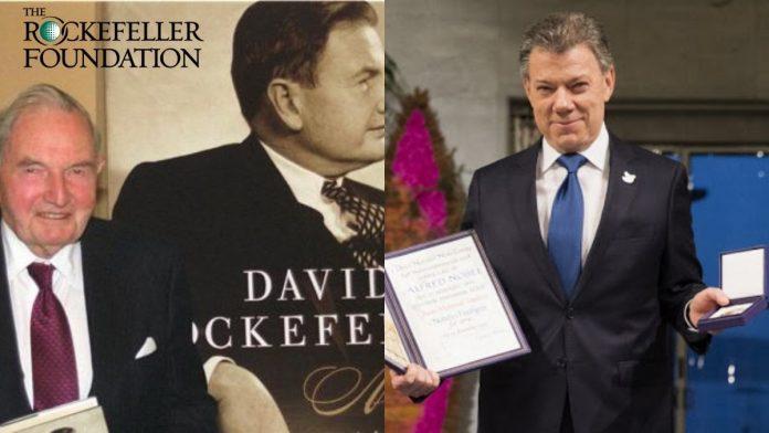 juan manuel santos fundación Rockefeller