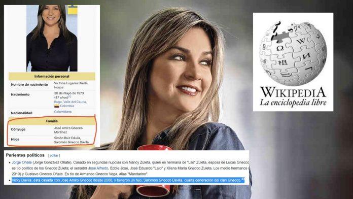 vicky dávila hijos wikipedia