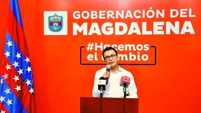 Carlos Caicedo, gobernador del Magdalena
