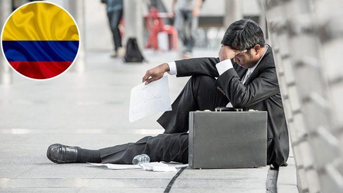 Colombia alcanza cifras alarmantes de desempleo en 2020