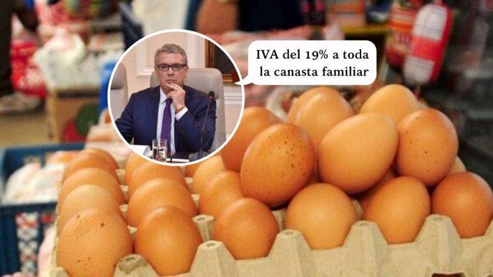 Duque apoya el impuesto del IVA del 19% a la canasta familiar