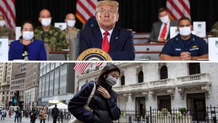 Estados Unidos crece de forma brutal en la pandemia.