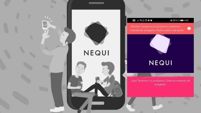 Nequi Colombia aplicación.