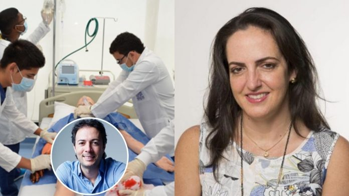 María Fernanda Cabal médicos cubanos