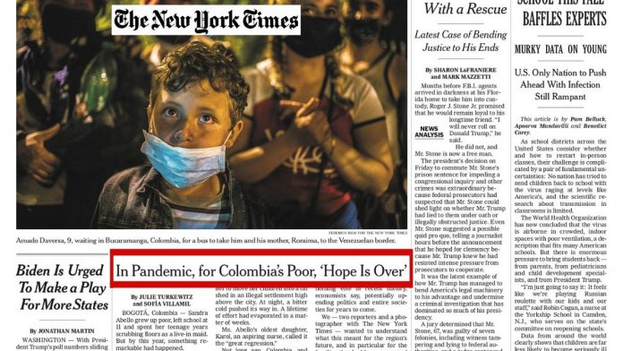 the new york times colombia