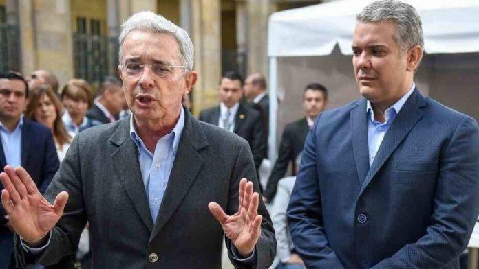 Álvaro Uribe Vélez Iván Duque