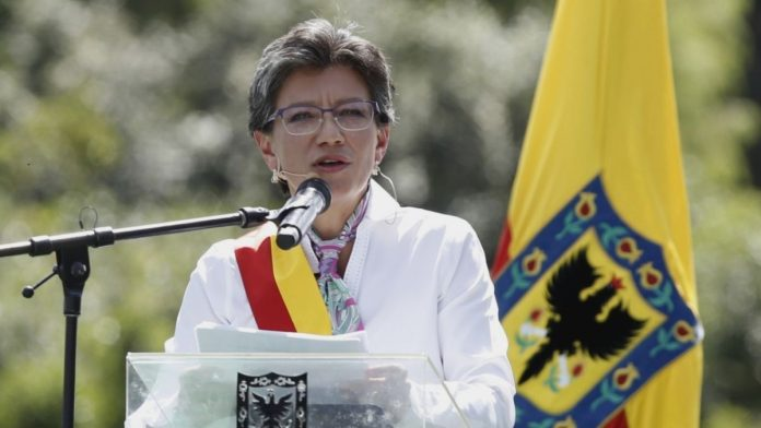 Alcaldesa de Bogotá Claudia Nayibe López Hernández