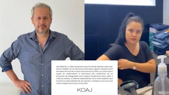 Alejandro Villalobos Se pasó con la trabajadora de Koaj