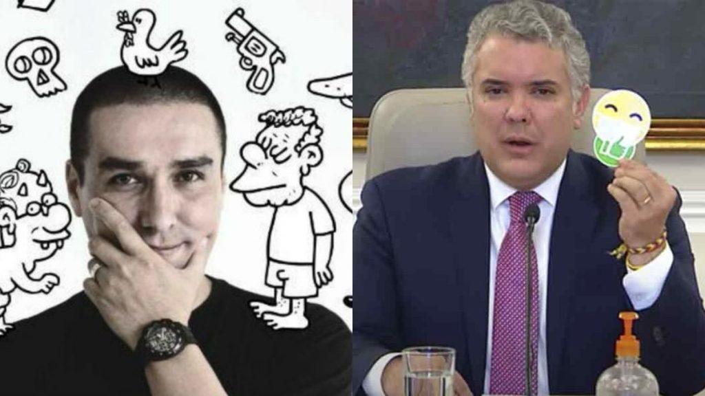 Caricaturista Matador Iván Duque
