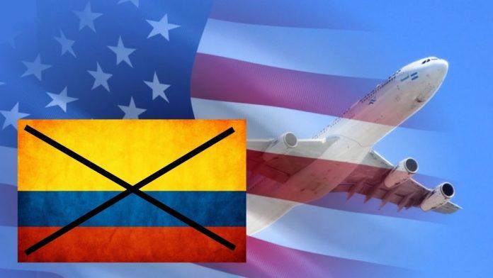 Estados Unidos califica a Colombia como un país inseguro.