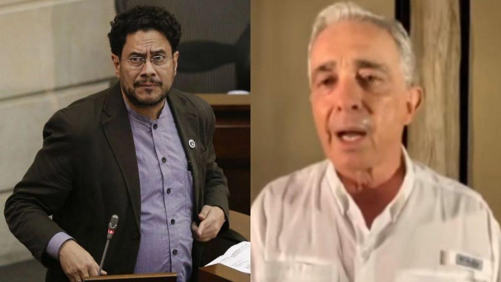Iván Cepeda Álvaro Uribe Vélez denuncia