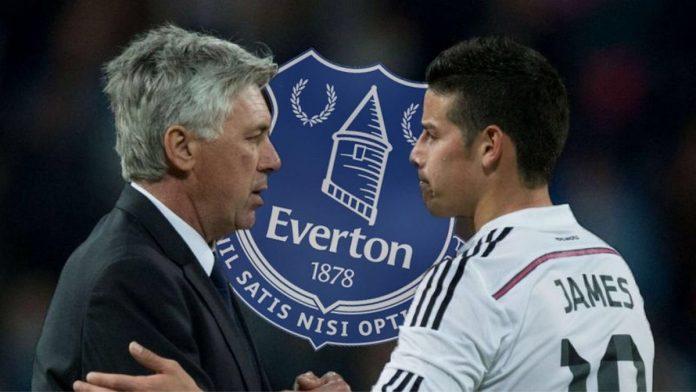 James Rodriguez está muy cerca de ser nuevo jugador del Everton de Inglaterra
