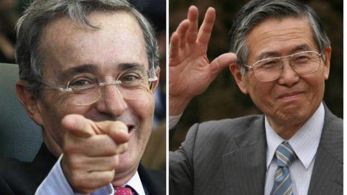 La estrategia de Uribe sería la misma de Fujimori