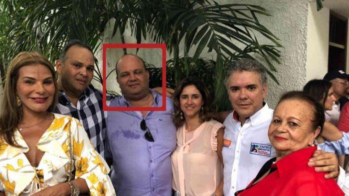 La familia Hernández con la familia Duque
