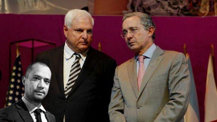 Qué une a Diego Cadena con el expresidente de Colombia Álvaro Uribe y al expresidente de Panamá Ricardo Martinelli