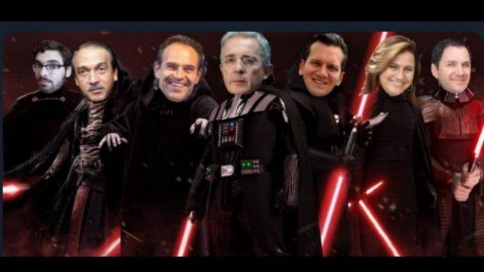 Senadora uribista comparó a Uribe y al Centro Democrático con los villanos de 'Star Wars'