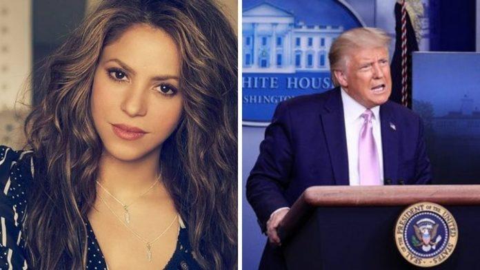 Shakira arremete contra Donald Trump