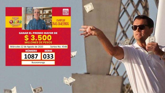 Uribe le trajo una fortuna a este ciudadano ganador de la lotería del Valle