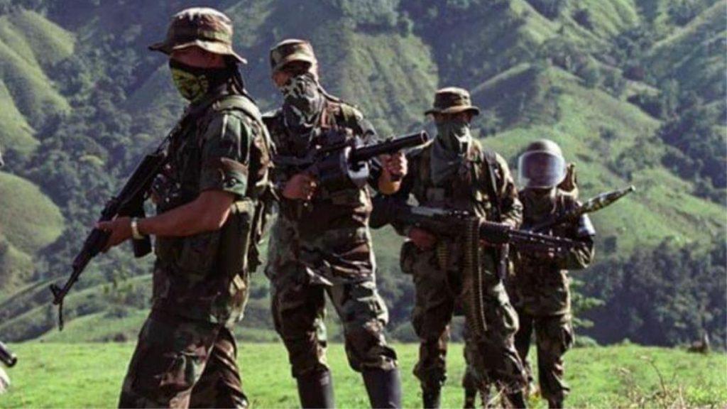 Conflicto armado en Colombia.