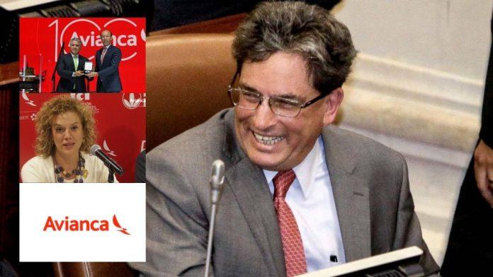 avianca colombia ministro carrasquilla