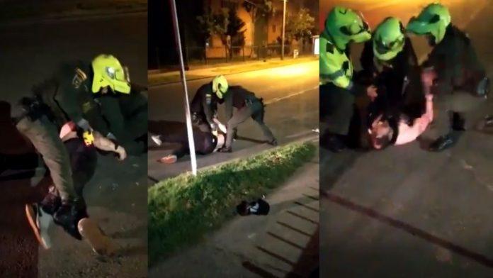 Abuso Policial en Bogotá