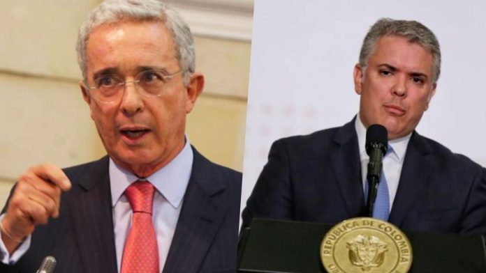 Álvaro Uribe Vélez Iván Duque toque de queda