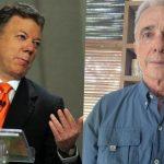 Álvaro Uribe arremete contra Juan Manuel Santos