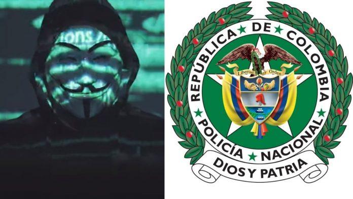 Anonymous Colombia anunció que tumbó la página de la Policía de Colombia