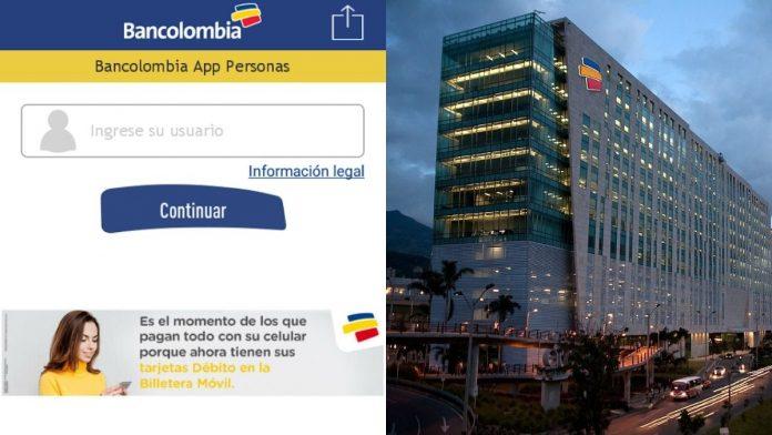 Bancolombia volverá a cobrar transferencias virtuales a otros bancos