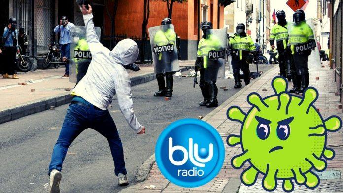 Chocolatada COVID de Blu Radio