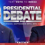Debate presidencial Estados Unidos Trump vs Biden