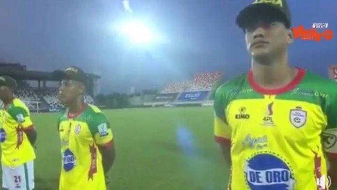Directivos del Real Cartagena habrían obligado a sus jugadores a portar las gorras de la Policía