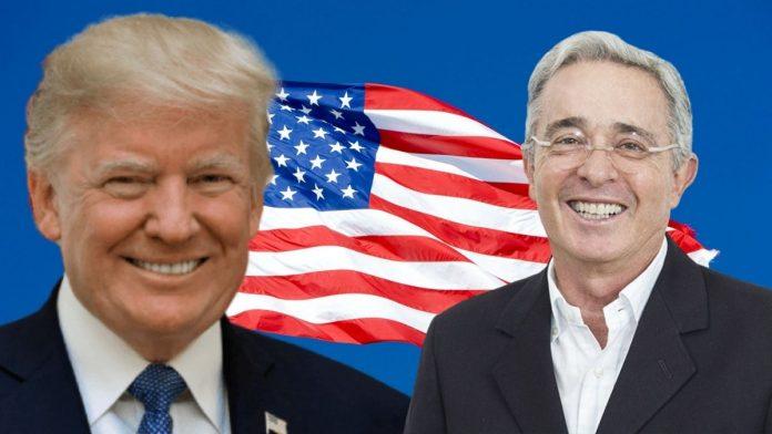 Donald Trump y Álvaro Uribe Vélez