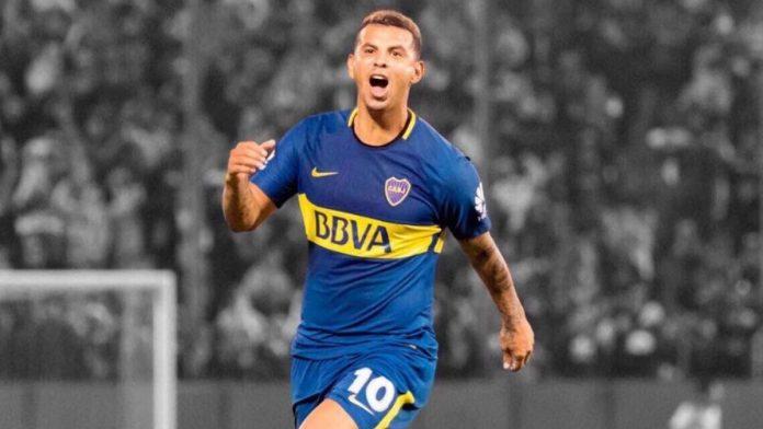 Edwin Cardona se estrena en la posición de delantero en práctica de Boca antes de enfrentar al DIM.