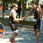 El gesto del corredor Español Diego Méntrida al dejar pasar a su rival poco antes de la meta