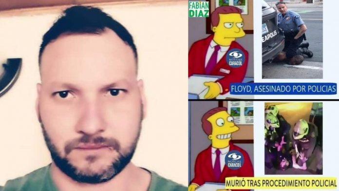 Fuertes críticas al Canar Caracol por titular sobre muerte de Javier Ordóñez a manos de policías
