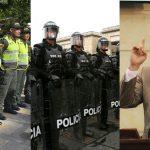 Gobierno saca $6.400 millones para comprar gorras a la policía