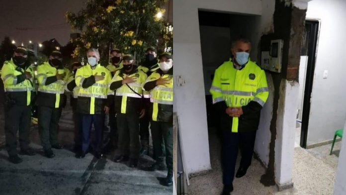 Iván Duque Policía