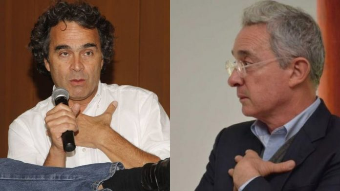 La relación de Fajardo con Álvaro Uribe Vélez