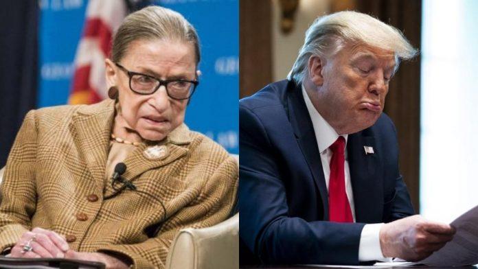 Muere la jueza Ruth Bader Ginsburg a sus 87 años.