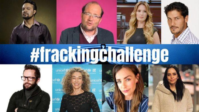 No al fracking, es la voz de los artistas y famosos en Colombia