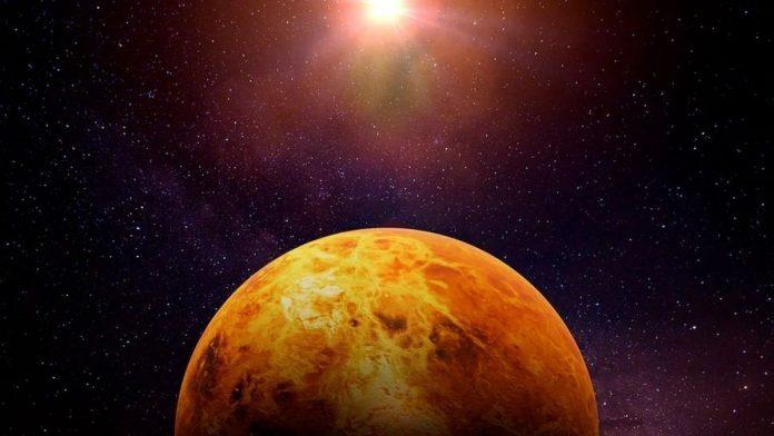 Posible vida en Venus.