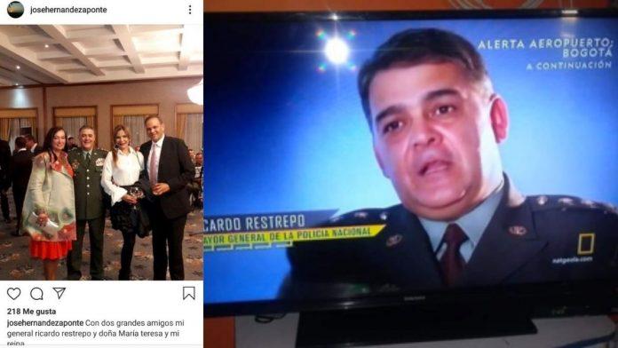 Ricardo Restrepo, el antinarcótico de Alerta Aeropuerto que era amigo de Ñeñe Hernández.
