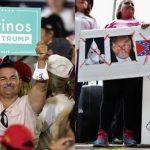 Trump necesita de los hispanos para ganar.