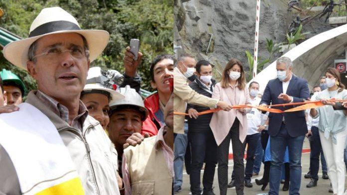 Túnel de la Línea ya ha sido inaugurado por dos presidentes (Álvaro Uribe e Iván Duque)