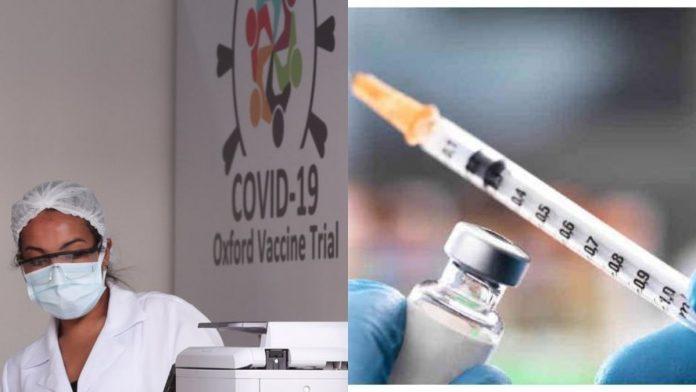 Vacuna de coronavirus de la Universidad de Oxford.