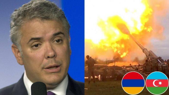 Burlas a Duque por recomendar a Armenia y Azerbaiyán negociar el fin del conflicto