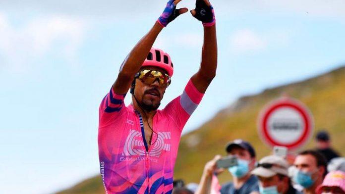 Desafortunado comienzo de Daniel Felipe Martínez en la Vuelta a España